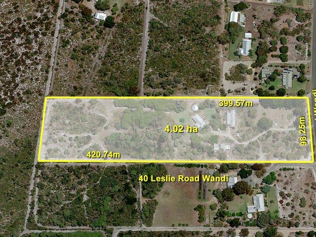 40 Leslie Road, Wandi, WA 6167