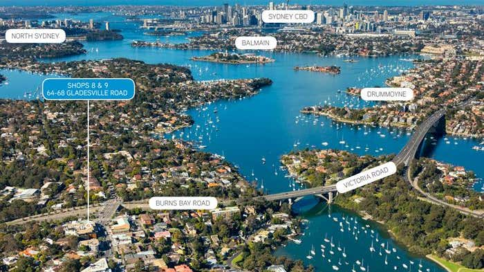 Shops 8 & 9, 64-68 Gladesville Road Hunters Hill NSW 2110 - Image 2