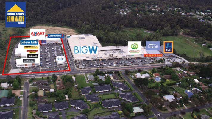 Leased Shop & Retail Property at HIGHLANDS HOMEMAKER CENTRE