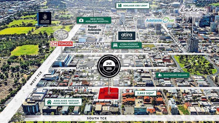 245-259 Gilbert Street Adelaide SA 5000 - Image 2