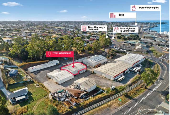 Front Warehouse, 4 Formby Road Devonport TAS 7310 - Image 1