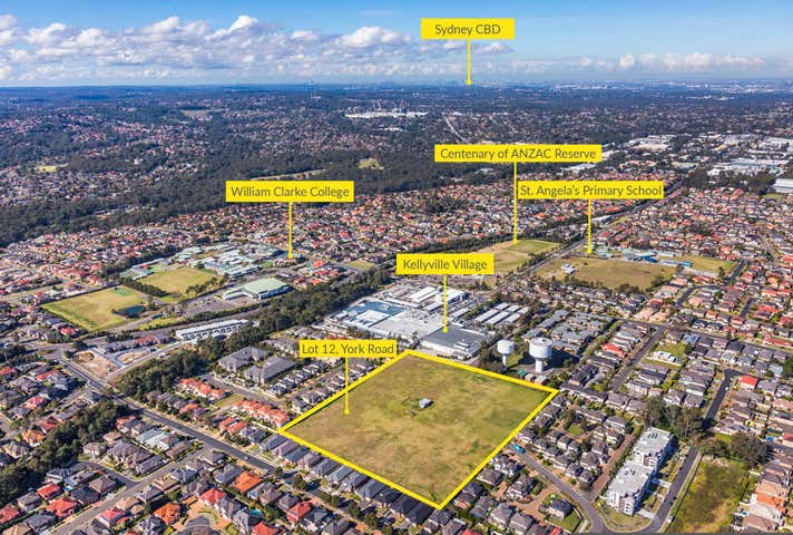 Lot 12 York Road, Kellyville, NSW 2155