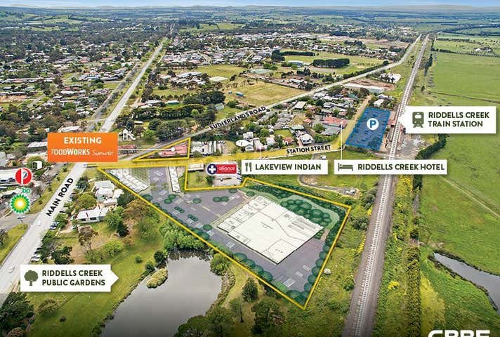 RIDDELLS CREEK RETAIL DEVELOPMENT SITE, 1-3 & 2 Station Street Riddells Creek VIC 3431 - Image 1