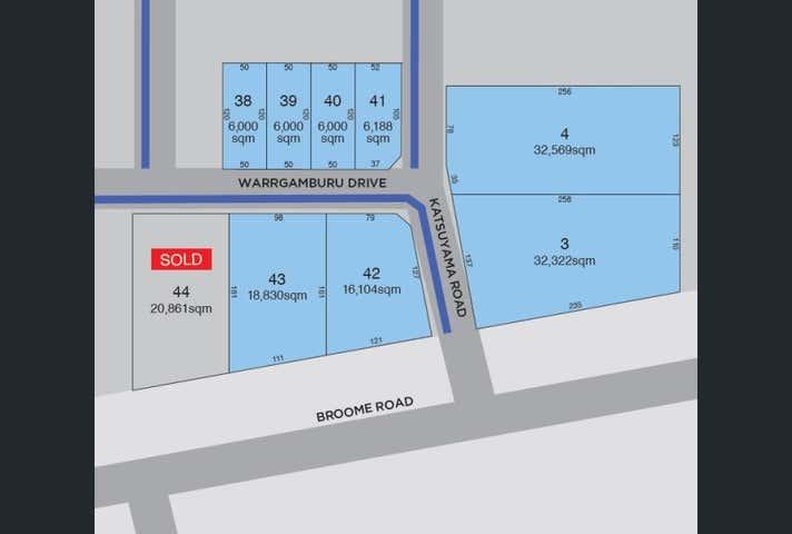 Lot 3 Crn Broome Rd and Katsuyama Rd, Broome, WA 6725