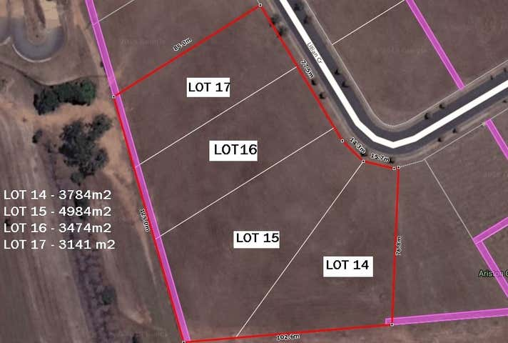 Lot 14 to 17, 14,16,18,20 Lillian Cresent Kensington QLD 4670 - Image 1
