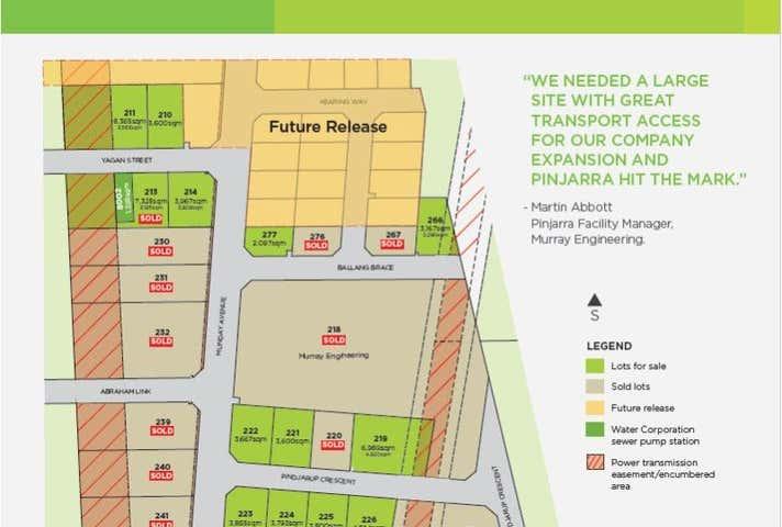 Lot 277 Corner Munday Ave & Ballang Brace Pinjarra WA 6208 - Image 1