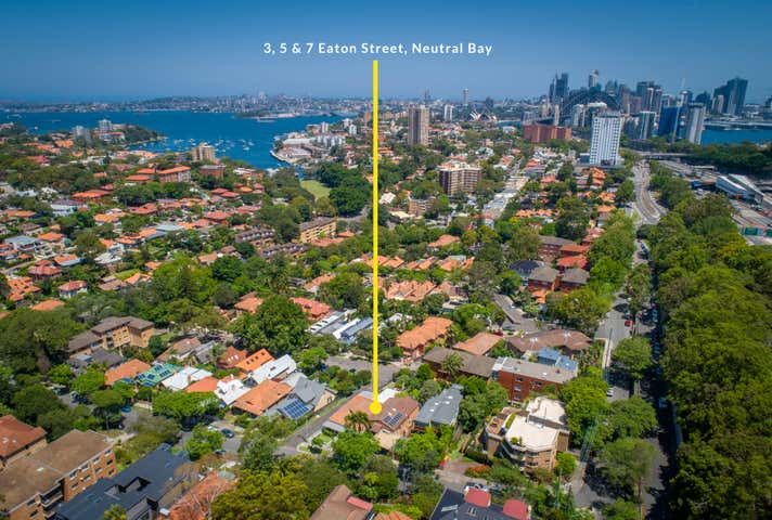 3, 5 & 7  Eaton Street Neutral Bay NSW 2089 - Image 1
