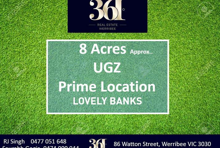 Lovely Banks, address available on request