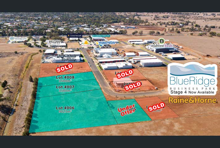 Lots 4001-4008 Asset Way, Dubbo, NSW 2830