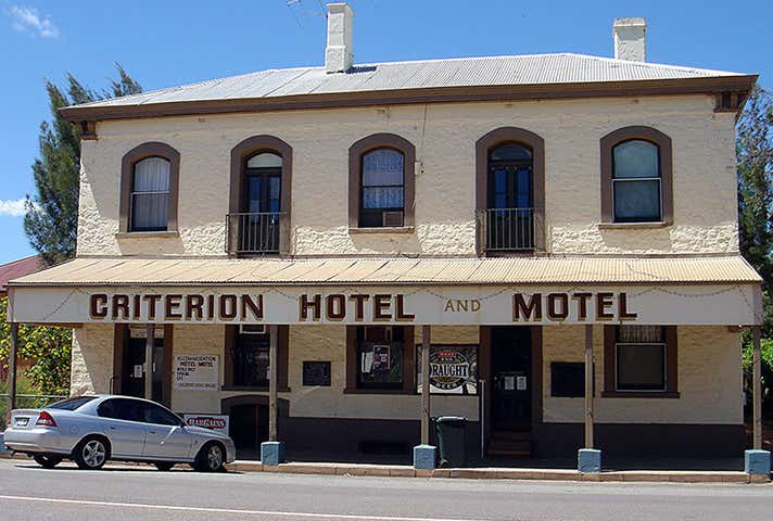 Criterion Hotel Motel (Business Only), 18 Railway Terrace, Quorn, SA 5433