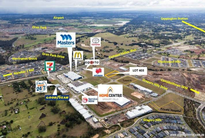 Central Hills Business Park, Lot 403, 650 Camden Valley Way Gregory Hills NSW 2557 - Image 1