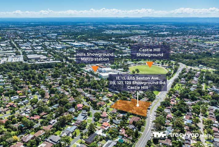 11,13,2/15 Sexton Avenue & 119, 121, 123 Showground Road Castle Hill NSW 2154 - Image 1