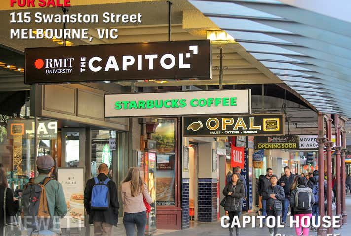 Capitol House, Storage 55, 115 Swanston Street Melbourne VIC 3000 - Image 1