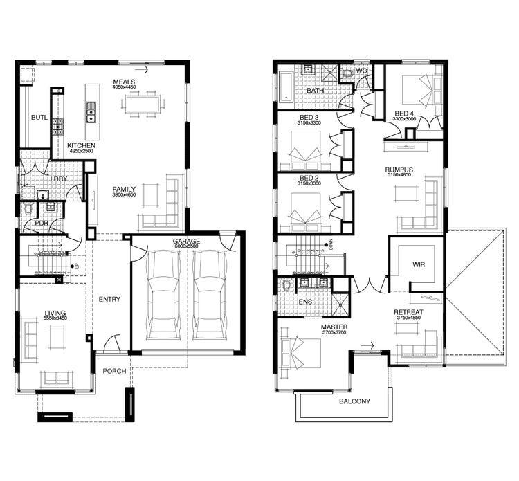 Eldon Floor Plan