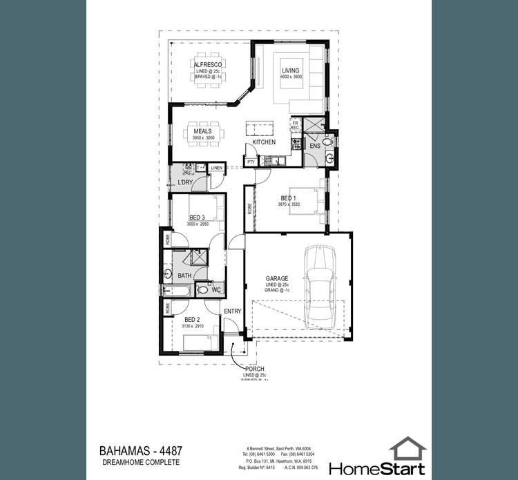 Bahamas Floor Plan