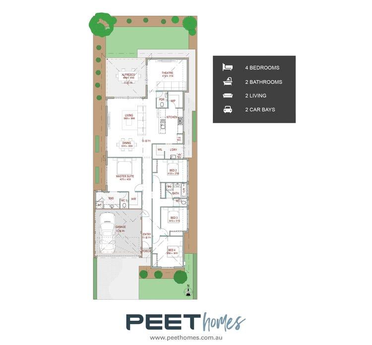Grevillia   12.5m X 30 Floor Plan