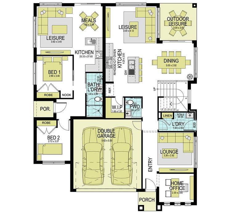 Washington Dual Living Floor Plan