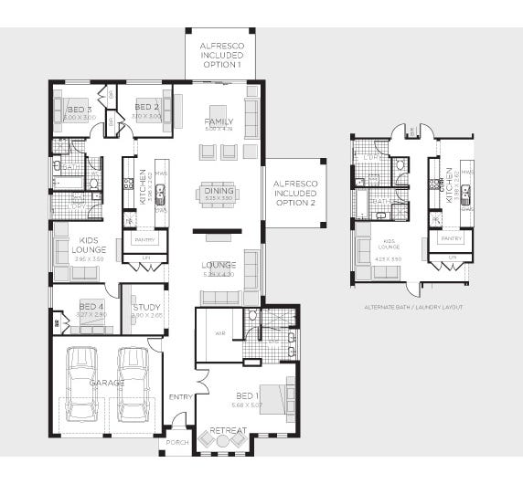 Clifton Floor Plan