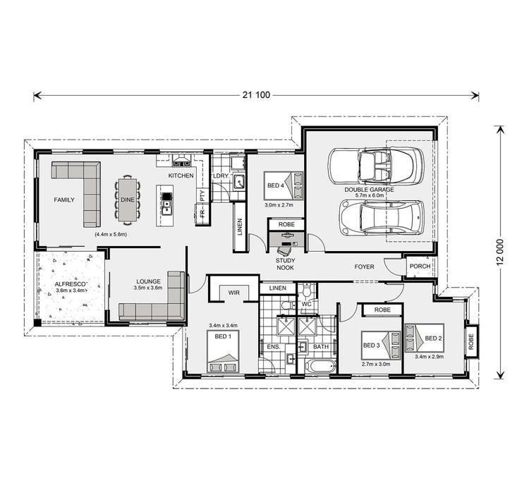 Hawkesbury Floor Plan