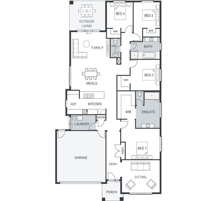 Daintree 256 Floor Plan