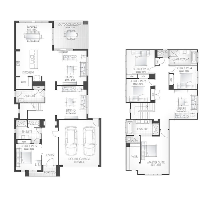 Hampshire Floor Plan