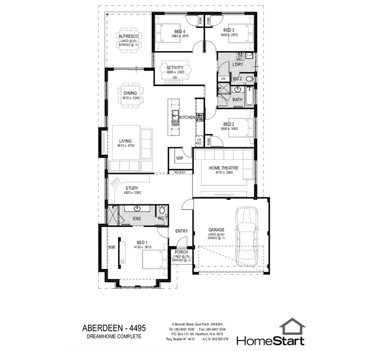 Aberdeen Floor Plan