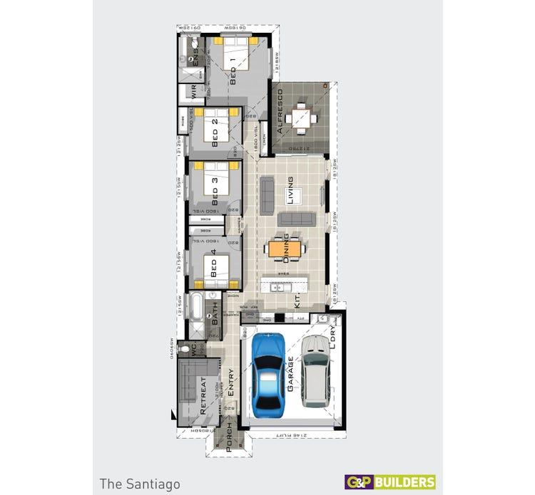 The Santiago Floor Plan