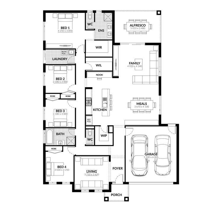 Fitzroy Floor Plan