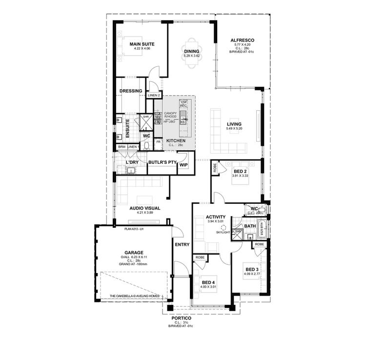 Oakebella S1 Floor Plan