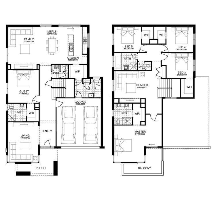 Hann Floor Plan