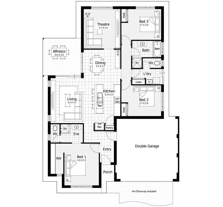 Aspect Floor Plan