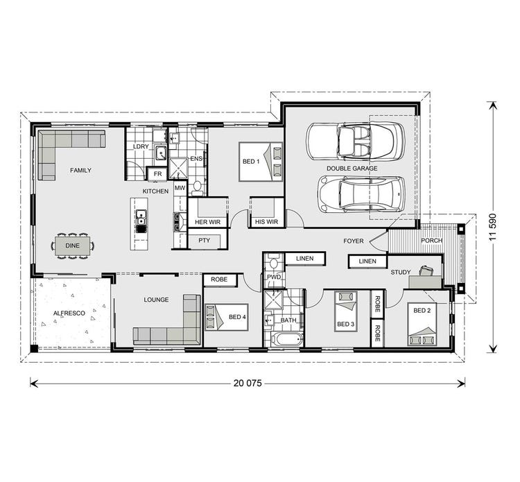 Casuarina Floor Plan