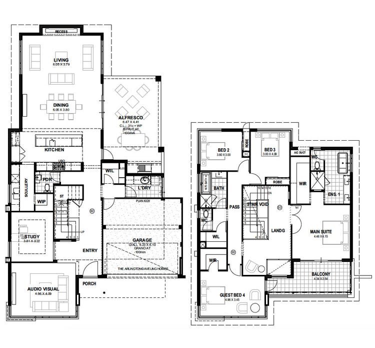 Arlington S1 Floor Plan
