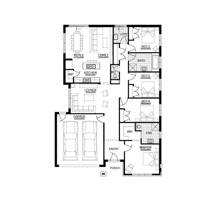 Darwin Floor Plan