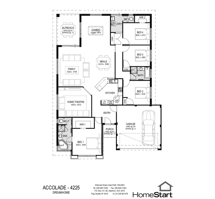 Accolade Floor Plan
