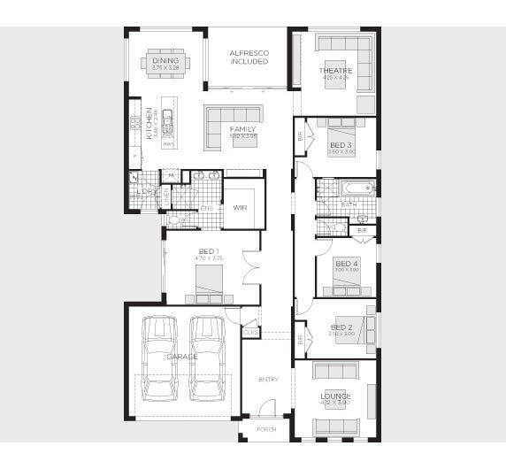 Serene Floor Plan