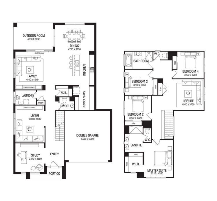 Merricks Floor Plan