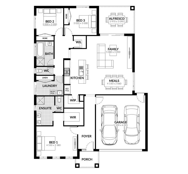 Montague Floor Plan