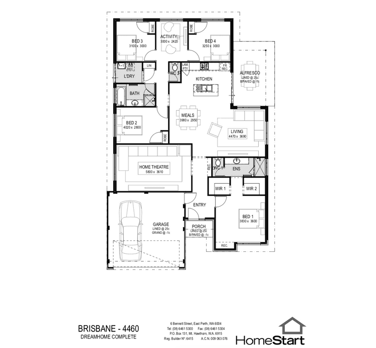 Brisbane Floor Plan