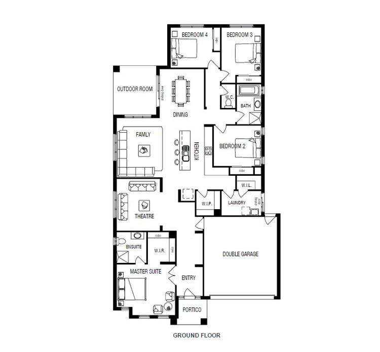 Langdon Home Design & House Plan by Metricon