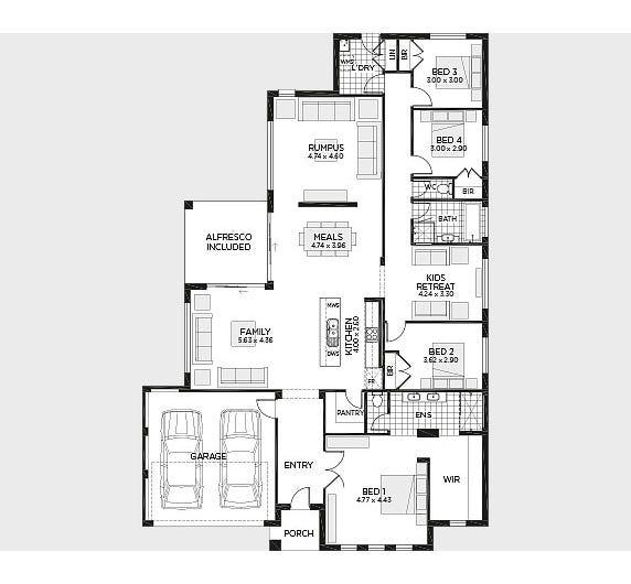 Eden Floor Plan