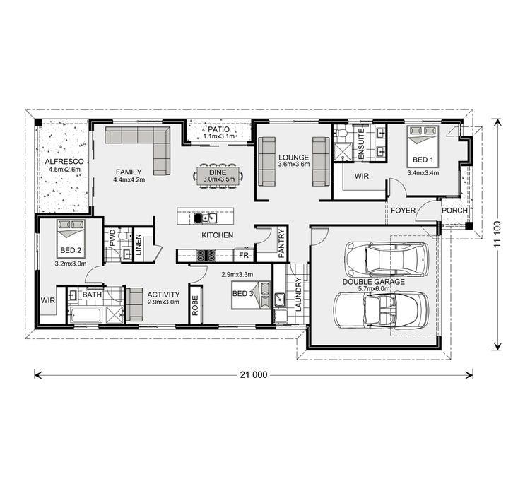 Portside Floor Plan