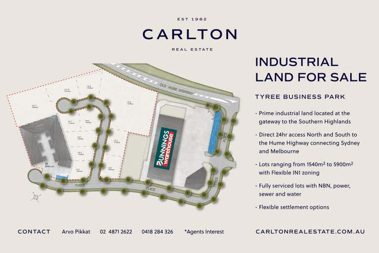 TYREE BUSINESS PARK, Lot 7 Tyree Place Mittagong NSW 2575 - Image 2