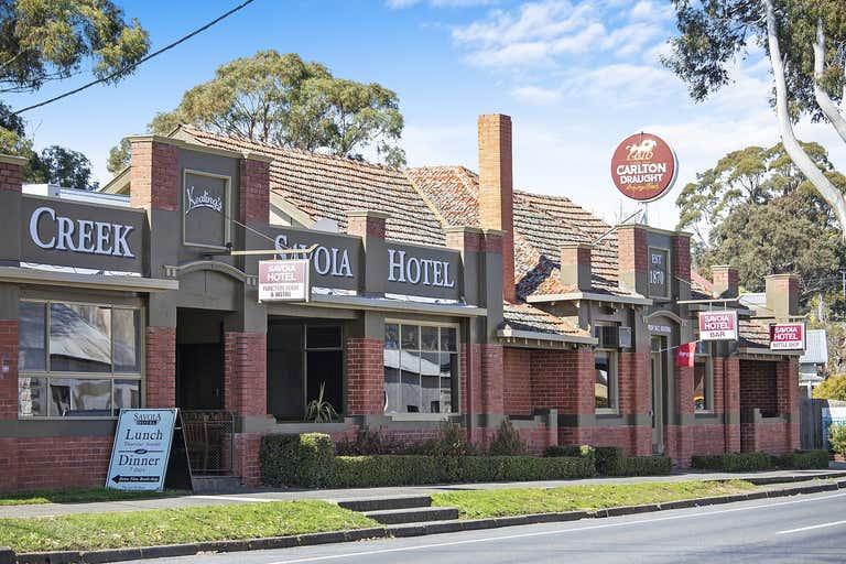 Savoia Hotel, 69 Main Rd Hepburn Springs VIC 3461 - Image 1