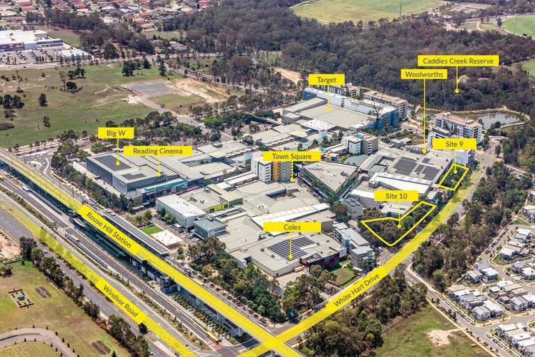 Key Town Centre Development Sites^ Rouse Hill NSW 2155 - Image 1