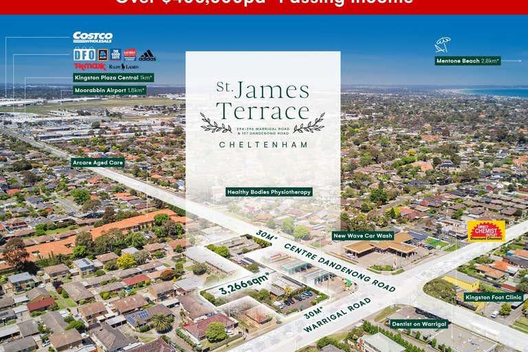 St James Terrace, 294-296 Warrigal Road & 157 Centre Dandenong Road Cheltenham VIC 3192 - Image 1
