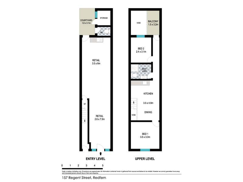 157 Regent Street Redfern NSW 2016 - Floor Plan 1