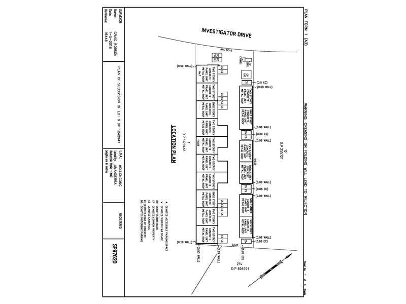 12/7 Investigator Drive Unanderra NSW 2526 - Floor Plan 1