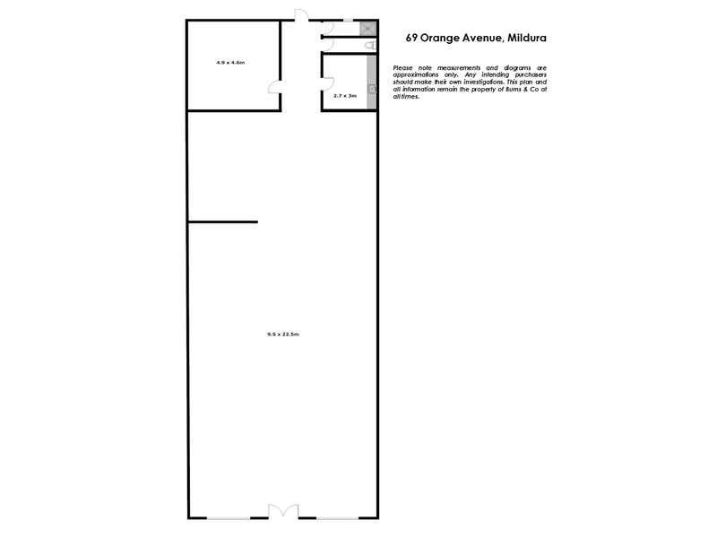 69 Orange Avenue, Mildura, 69 Orange Avenue Mildura VIC 3500 - Floor Plan 1