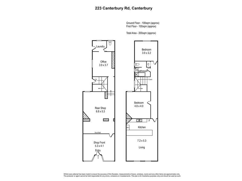223 CANTERBURY ROAD Canterbury VIC 3126 - Floor Plan 1